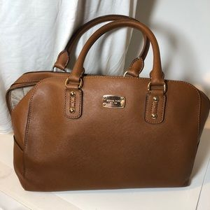 Michael Kors Brown Large Purse With Handles